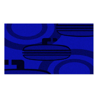 curl blue speckled pack of standard business cards