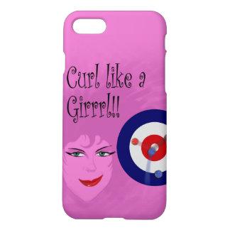 Curl like a Girrrl! iPhone 8/7 Case