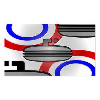 curl plastic wrap business card templates