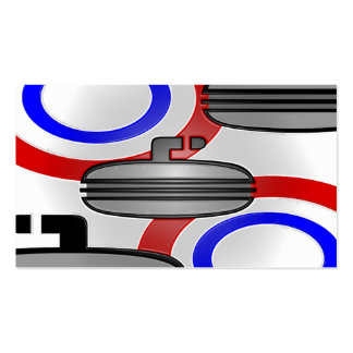 curl plastic wrap pack of standard business cards