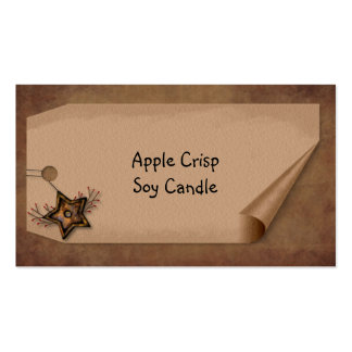 Curl Tag Star Hang Tag Product Tag Pack Of Standard Business Cards
