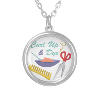 Curl Up Round Pendant Necklace