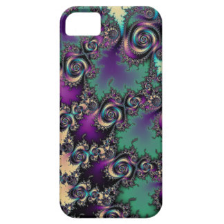 Curled Fractal Implosion iPhone 5 Case