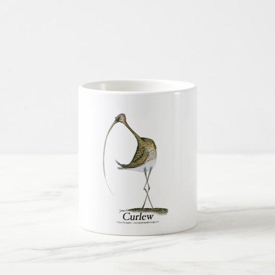 curlew, tony fernandes coffee mug