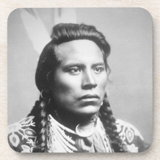Curley, of the Crow tribe, one of Custer's scouts Drink Coasters