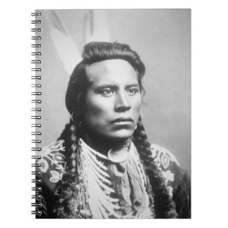 Curley, of the Crow tribe, one of Custer's scouts Notebook