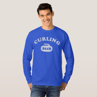Curling 2018 Curling Stone Happy New Year Shirt