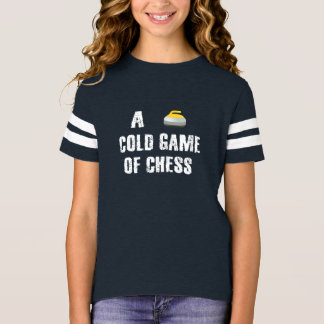 Curling, A Cold Game of Chess T-Shirt