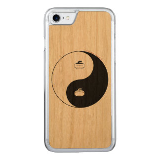 Curling Carved iPhone 7 Case