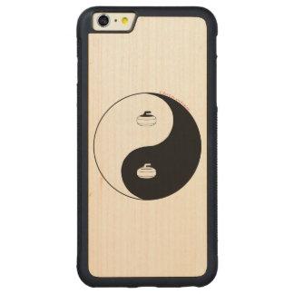 Curling Carved® Maple iPhone 6 Plus Bumper Case