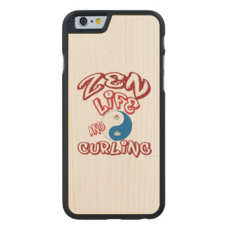 Curling Carved® Maple iPhone 6 Slim Case