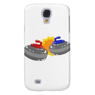 Curling Samsung Galaxy S4 Cover