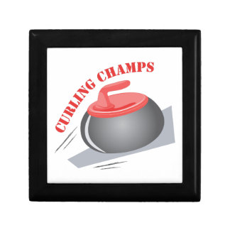 Curling Champs Small Square Gift Box