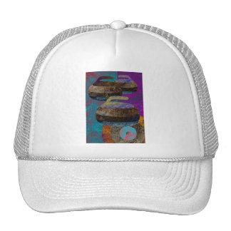 curling design cap