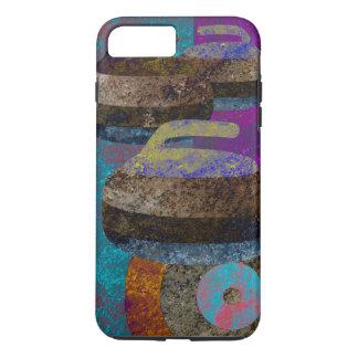 curling design iPhone 7 plus case