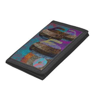 curling design trifold wallet