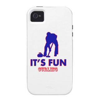 curling Designs iPhone 4/4S Cases