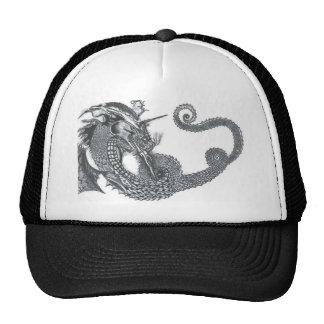 Curling Dragon Cap