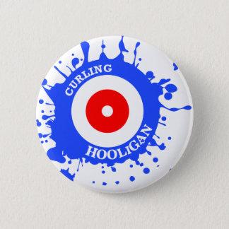 Curling Hooligan 6 Cm Round Badge