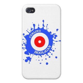 Curling Hooligan iPhone 4 Case