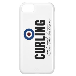 Curling: In The Button Cover For iPhone 5C
