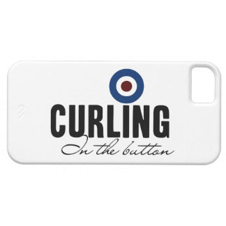 Curling In The Button iPhone 5 Covers