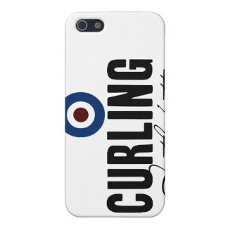 Curling: In The Button iPhone 5/5S Cover
