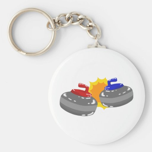 Curling Keychain