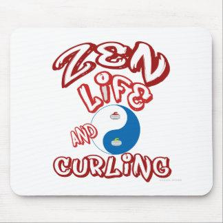 Curling Mouse Mat