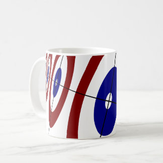 Curling Rings Coffee Mug