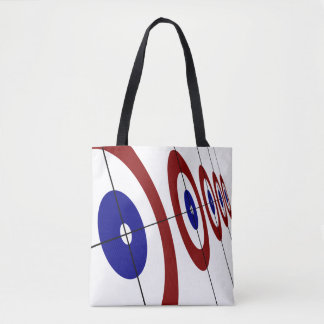 Curling Rings Tote Bag