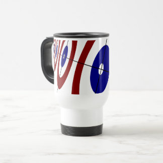 Curling Rings Travel Mug