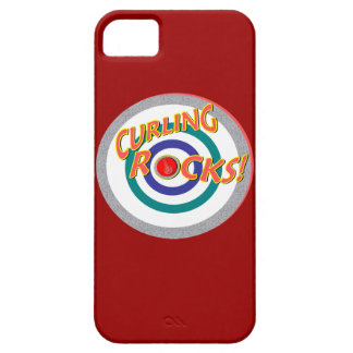 """""""Curling Rocks"""" 2014 Olympics iPhone 5 Covers"""
