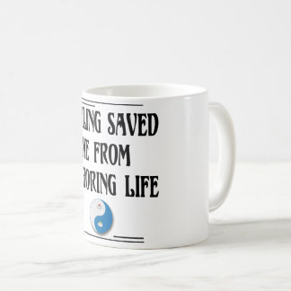 Curling Saved Me Coffee Mug