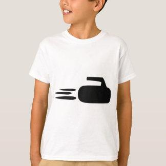 curling stone icon T-Shirt