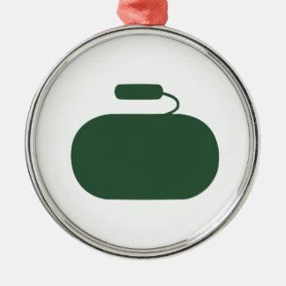 Curling Stone Ornament