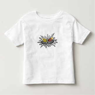 Curling stones toddler T-Shirt