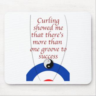 Curling Success Mouse Mat