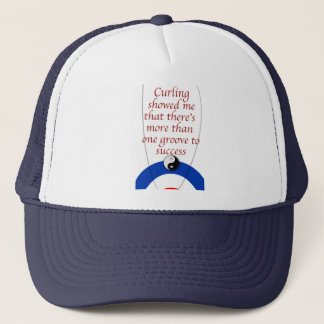 Curling Success Trucker Hat