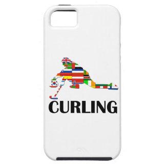 Curling Tough iPhone 5 Case