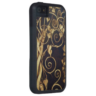 Curling Vines iPhone Case Case For The iPhone 5