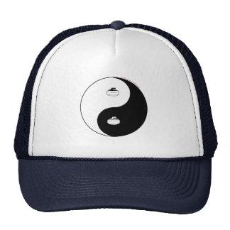 Curling Yin Yang Cap