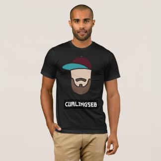 Curlingseb Black T-shirt Men