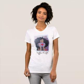 Curls&Coffee Original- Painting T-Shirt