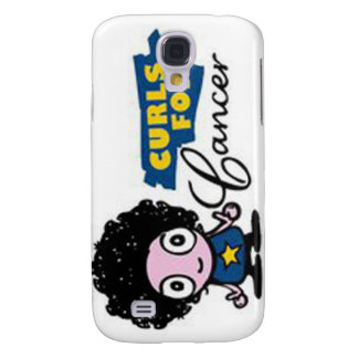 Curls for Cancer iPhone 3 cover