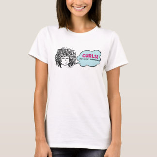 Curls My Secret Superpower T Shirt for Curly Girls