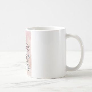 Curly Bird, Mexican Bark Basic White Mug