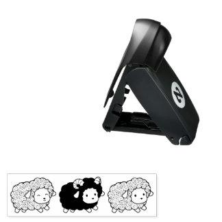 Curly Coat Little Sheep Ram Pocket Stamp