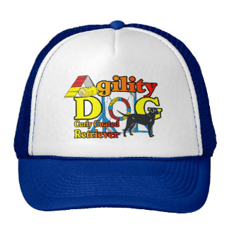 Curly Coated Retriever Agility Gifts Cap