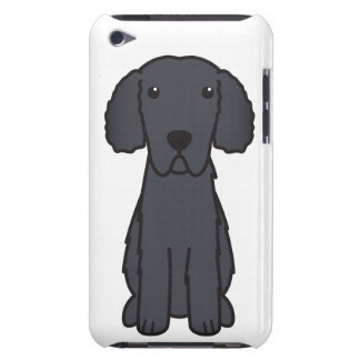 Curly Coated Retriever Dog Cartoon iPod Touch Covers